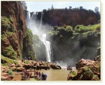Cascade Ouzoud day trip from 49€