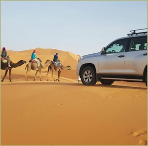 2 days desert tour : Agadir to Zagora desert via Taroudant