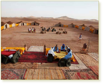 2 days 1 night tour from Agadir to Zagora